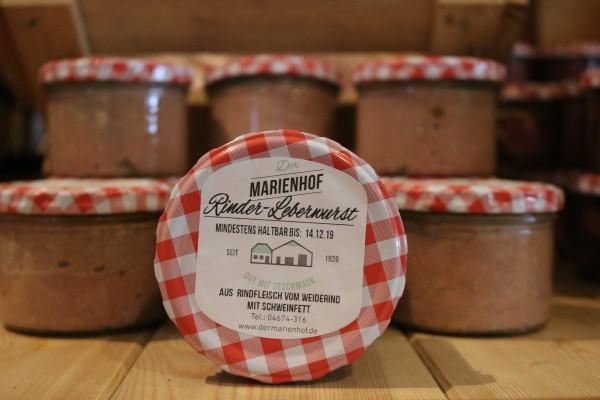 Rinder-Leberwurst